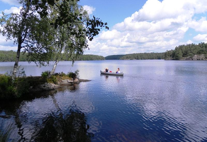 Båt, kanot och cykeluthyrning hos Långsjöns camping