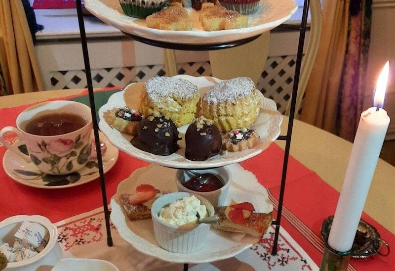 Afternoon Tea på Café Garvaregården