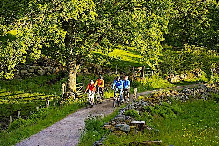 Cykla Kattegattleden genom Kungsbacka