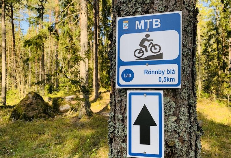 Västerås Rönnby  - MTB Blå