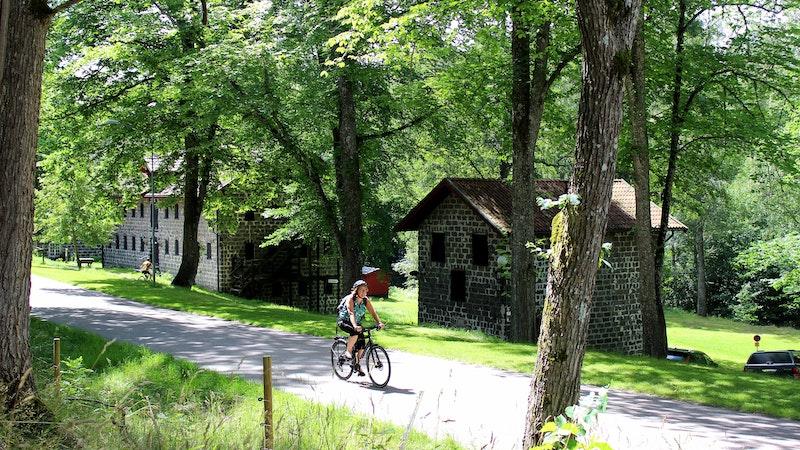 Borgvik, en välbevarad historisk bruksmiljö vid Vänern