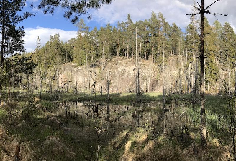 Kyrkstig Åboholm-Tived