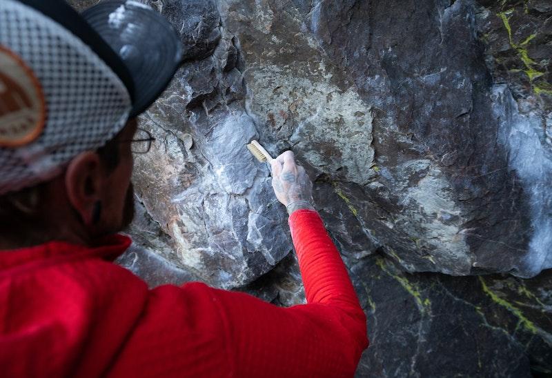 Lätta väggen, Fruberget klätterområde