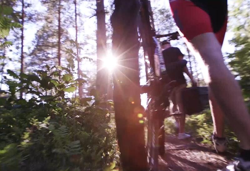 Ankarsrum-Västervik, Mountainbike