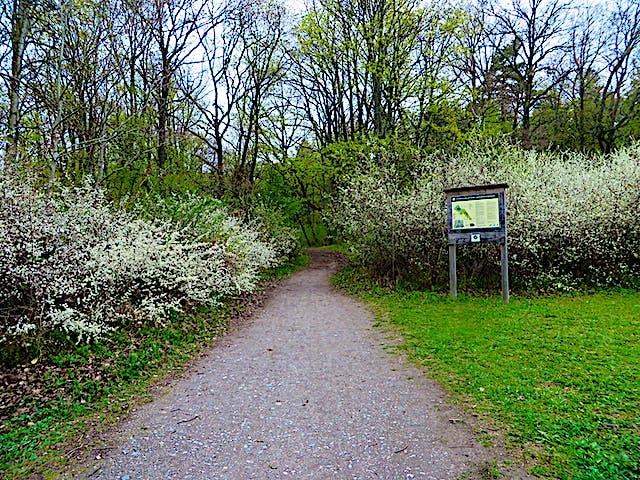 Naturreservatsskylt