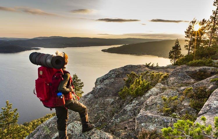 Utsikt från Fäberget