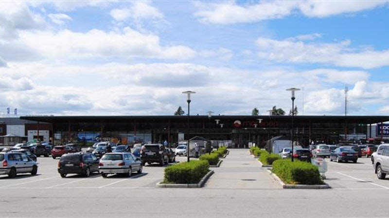 Morenen Kjøpesenter, Slitu