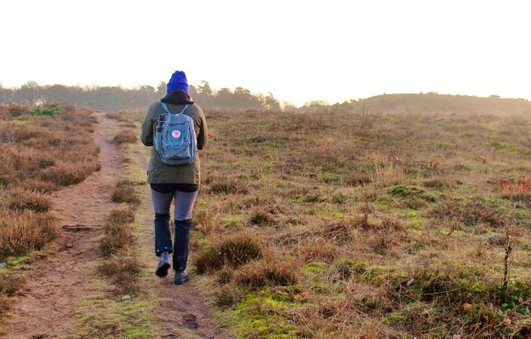 Vandring längs Hallandsleden