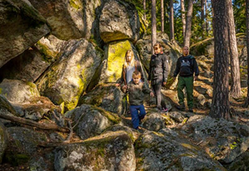 Tångeråsa - Svartå Herrgård, Munkastigen Etapp 2