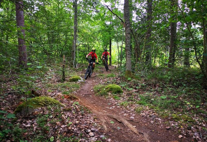 Luddes trail, mountainbike