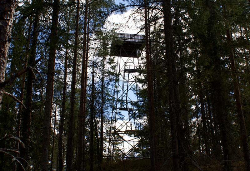Luftbevakningstorn - Norra Landsberget