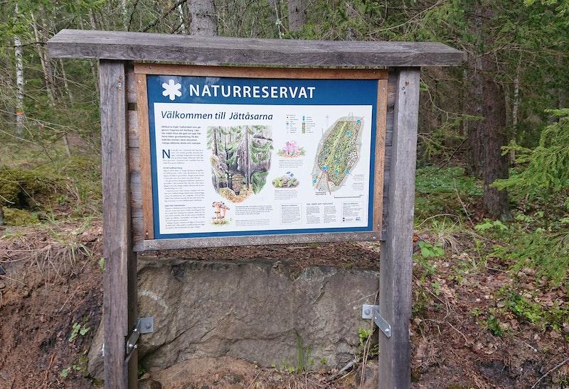 Jättåsarnas Naturreservat