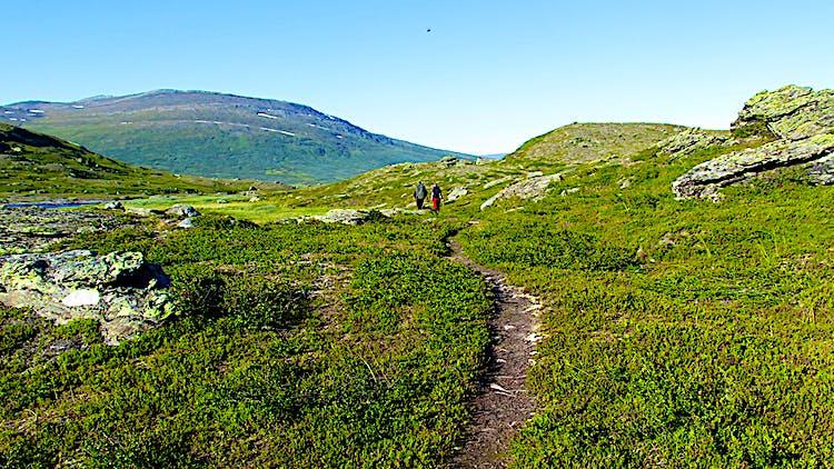 Padjelanta Badjelánnda nationalpark   Välj nationalpark