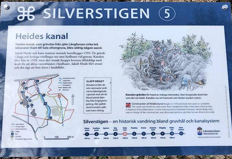 Länsstyrelsens info om Silverstigen.