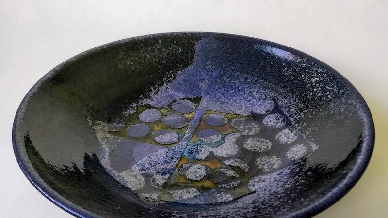 """Galleri Mimmi Design: Karin Lööf ställer ut keramik med temat """"Vackert blått"""""""