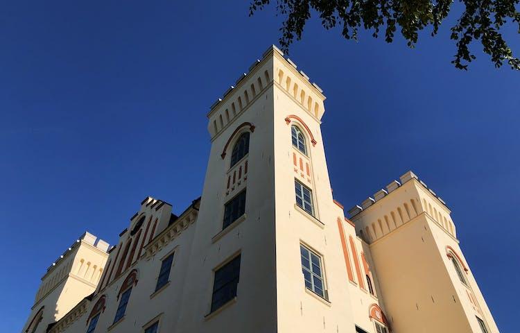 Tornen på Bogesunds slott.