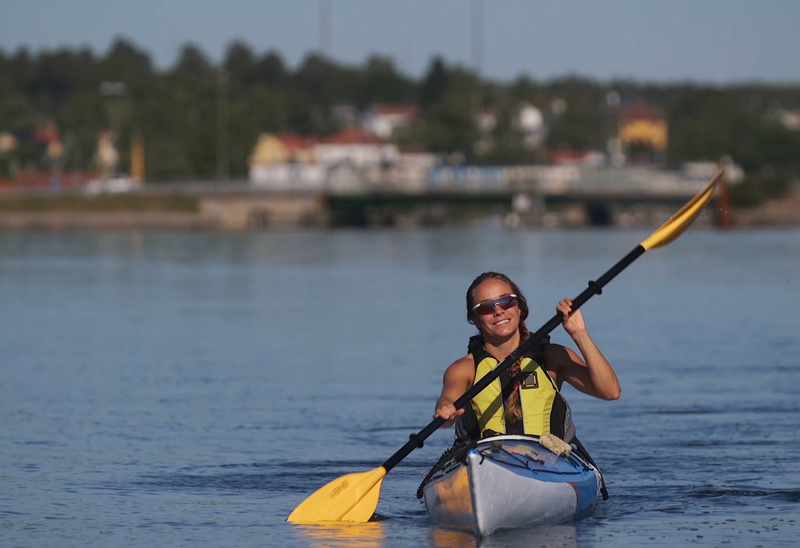 Fiskaretorget - Skeppsbrofjärden, kajakled