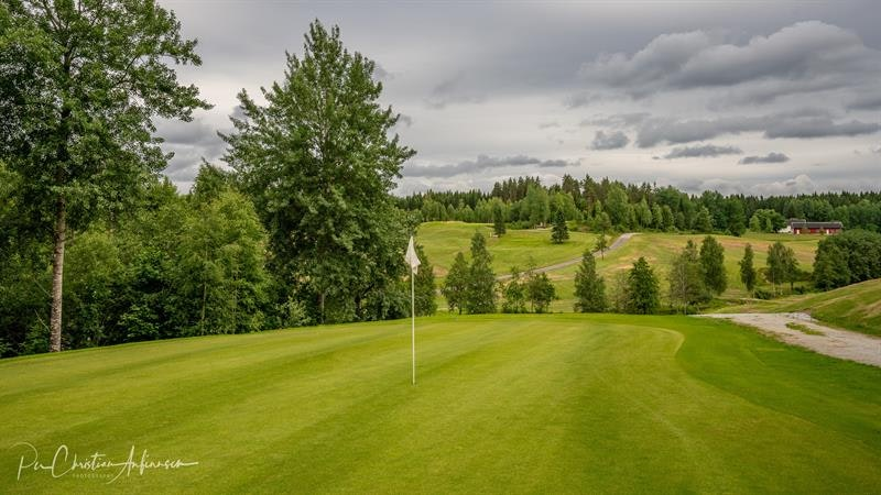 The golf field Photo: Per Chr. Anfinsen