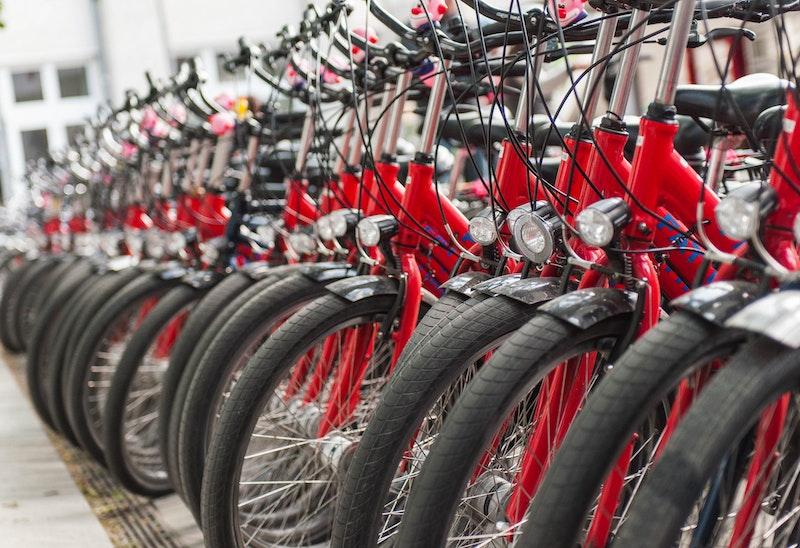 Cykeluthyrning, Motorsport