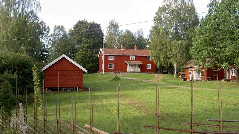 Svanskog Hembygdsgård är ett populärt utflyktsmål bland annat vid midsommar Foto: Svanskog hembygdsförening