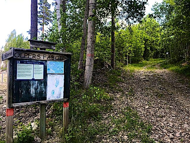 Olpers fäbodstig Falu kommun | Naturkartan