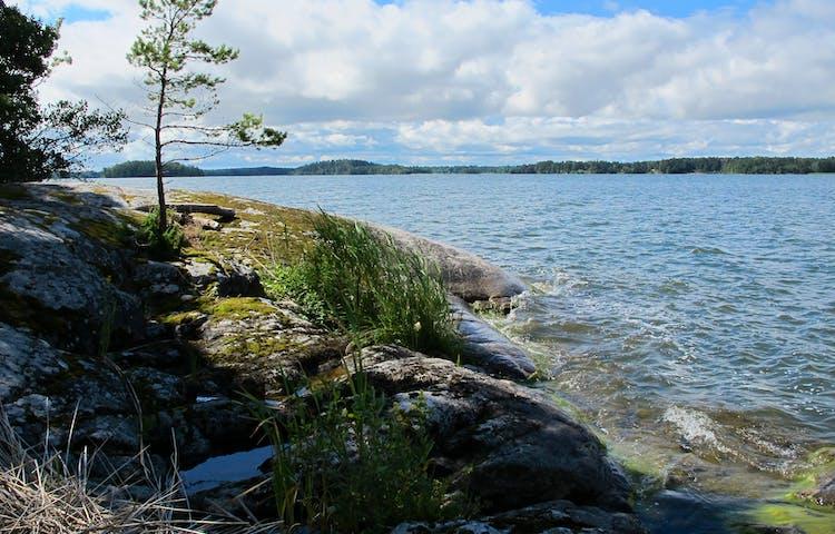 Vy från Lilla Lagnö. Foto: Lena Malmström