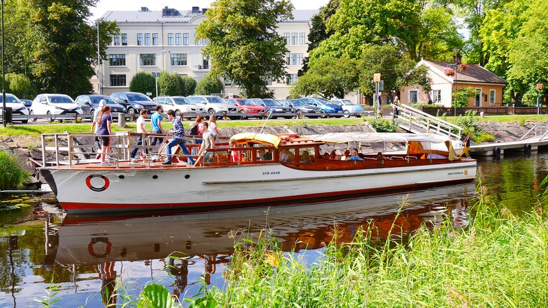 Båtbuss i Karlstad