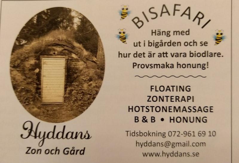 Photo: Hyddans Zon och Gård