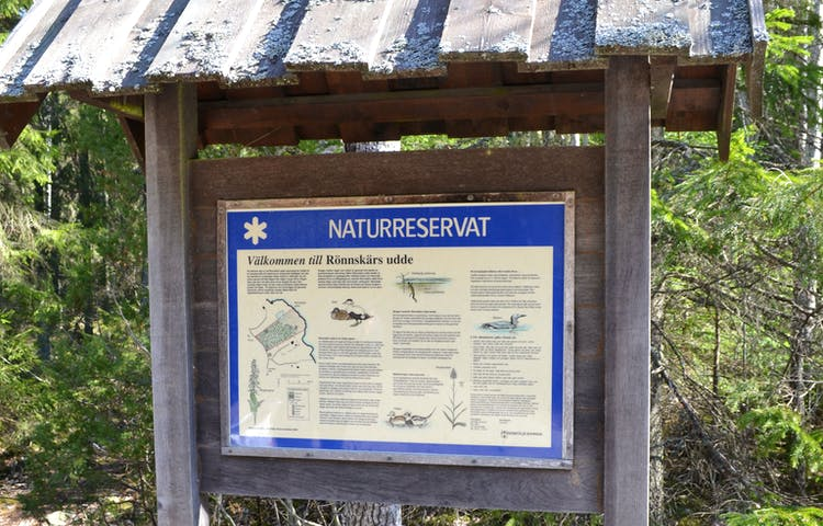 Välkommen till Rönnskärs udde. Foto: Marie Amid
