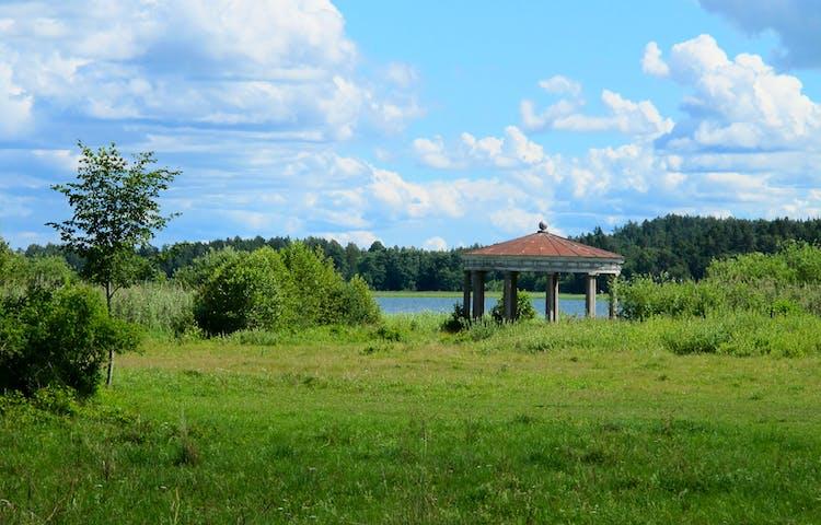 Ekotemplet i naturreservatet Ådö-Lagnö. Foto: Lena Malmström