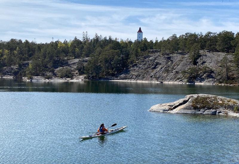 Örserumsviken - Västervik Resort - Idö, kajaled
