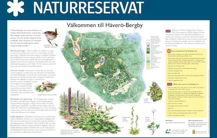 Välkommen till Häverö-Bergby naturreservat.