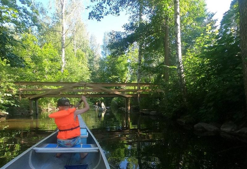 Från Hallingeberg till Skaftet med kanot