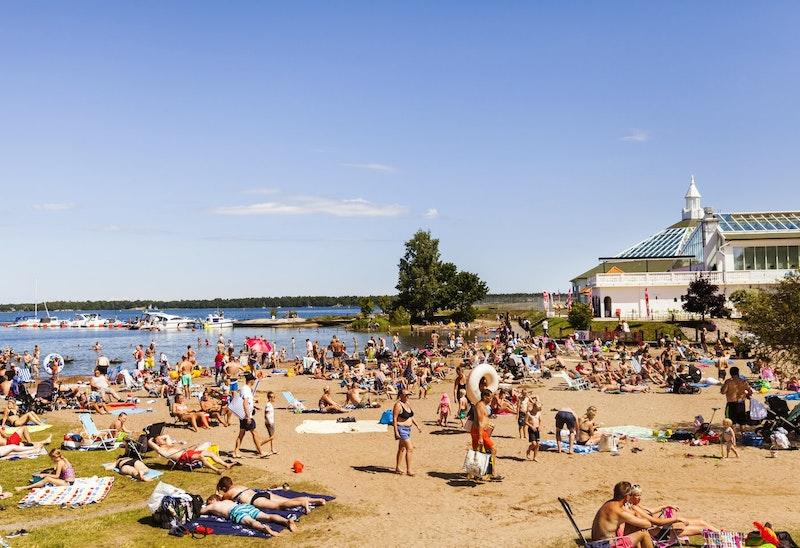 Badplatser i Västerviks kommun