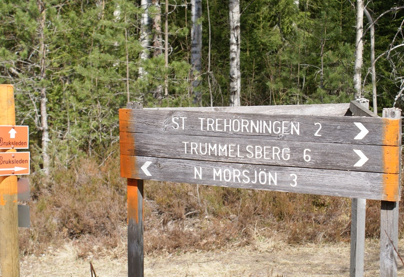Möjlighet att vända mot Norra Landsberget
