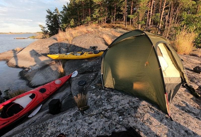 Hallingeberg - Skaftet, kanotled
