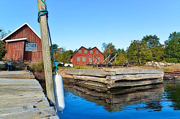 Hästholmen Ytterön naturreservat ARK56 Blekinges länkade