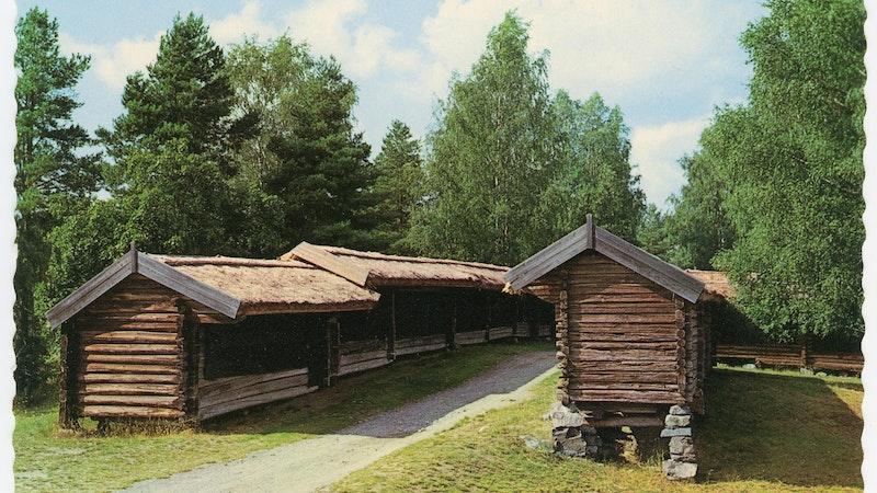 De unika marknadsbodarna är från mitten av 1700-talet. Photo: Gillberga Hembygdsförening