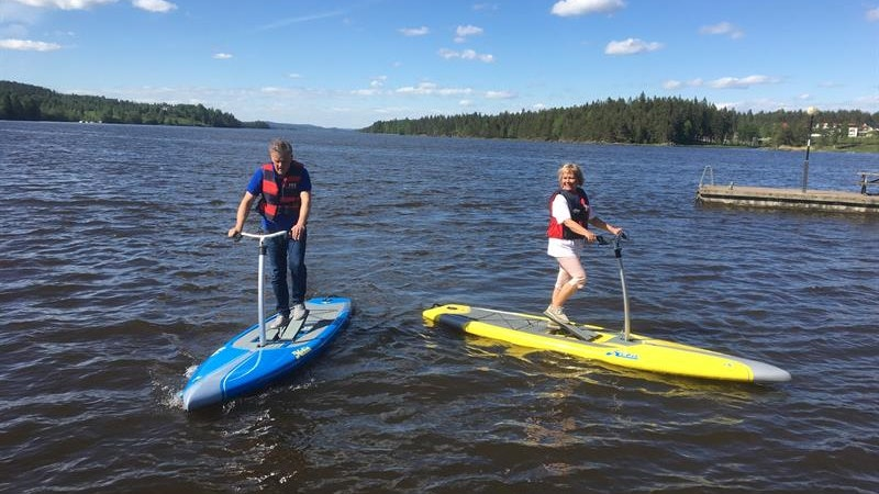 Step boards at the Haldencanal - NEW THIS SUMMER!