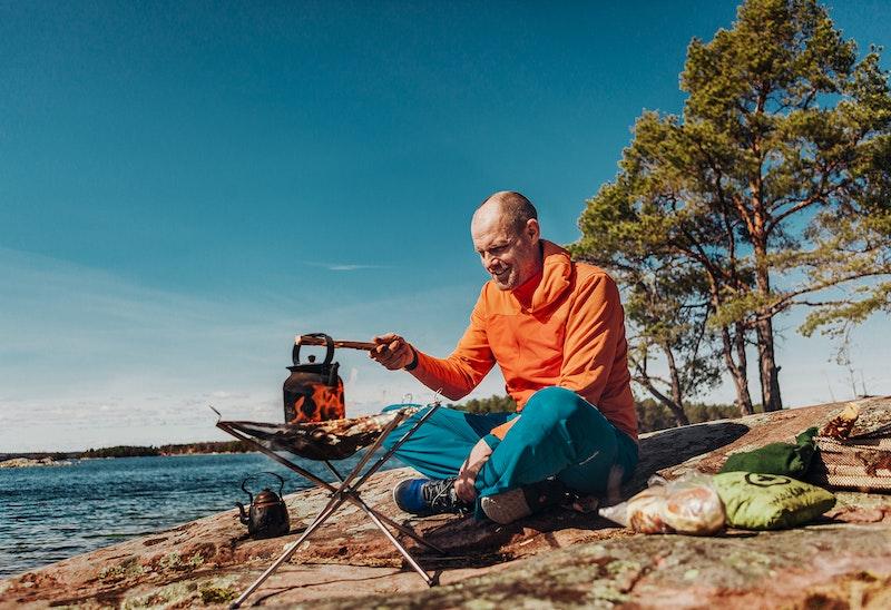 Guiden Johannes Löf lever livet med naturen
